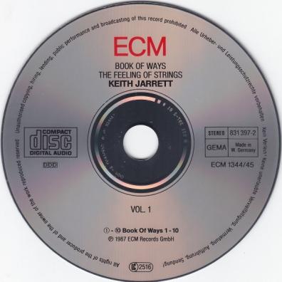 Keith Jarrett (Кит Джарретт): Book Of Ways (The Feeling Of Strings)