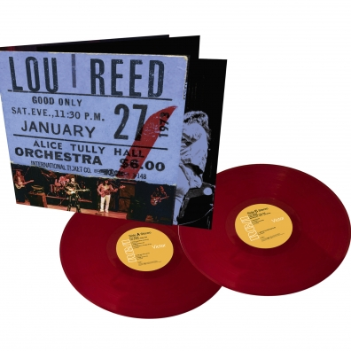 Lou Reed (Лу Рид): Live At Alice Tully Hall - January 27, 1973 - 2Nd Show