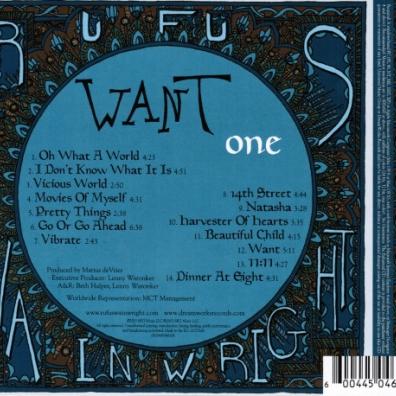 Rufus Wainwright (Руфус Уэйнрайт): Want One