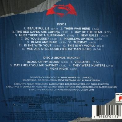 Hans Zimmer (Ханс Циммер): Batman V Superman: Dawn Of Justice