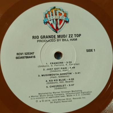 ZZ Top (Зи Зи Топ): Rio Grande Mud