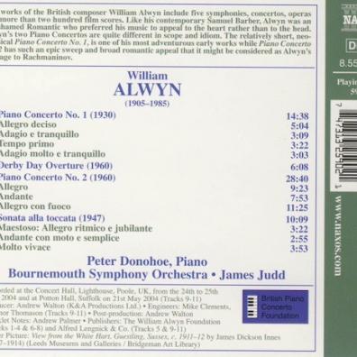 William Alwyn: Piano Concertos Nos. 1