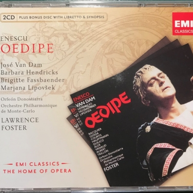 George Enescu (Джордже Энеску): Oedipe