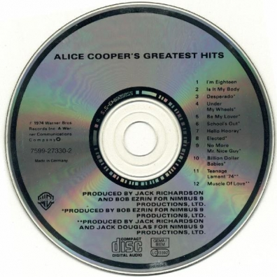 Alice Cooper (Элис Купер): Greatest Hits