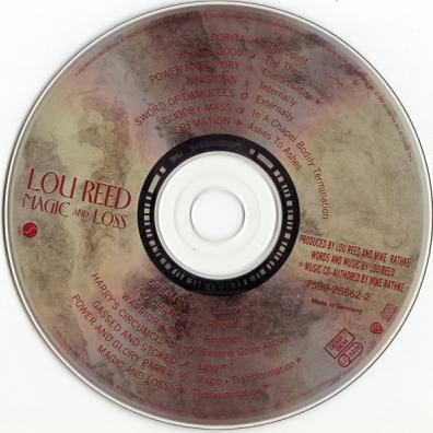 Lou Reed (Лу Рид): Magic And Loss