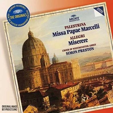 Simon Preston (Саймон Престор): Palestrina Missa Papae Marcelli