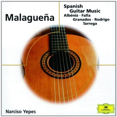 Narciso Yepes (Нарсисо Йепес): Malaguena - Spanish Guitar Music