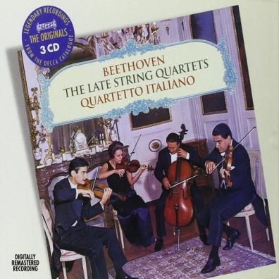 Quartetto Italiano (Итальянский квартет): Beethoven: Late String Quartets