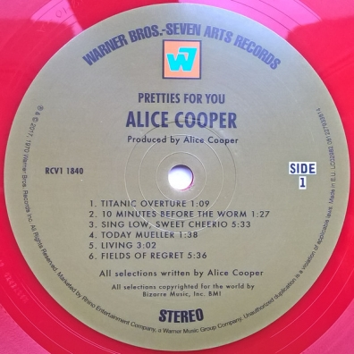Alice Cooper (Элис Купер): Pretties For You