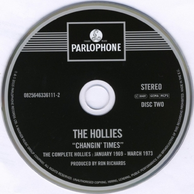 The Hollies (Зе Холлиес): Changin' Times - The Complete Hollies: January 1969 – March 1973