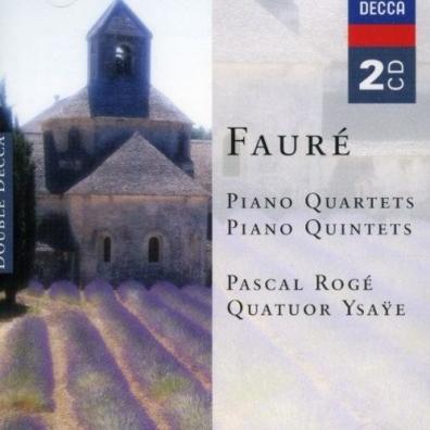 Pascal Rogé (Паскаль Роже): Faure: Piano Quartets & Piano Quintets