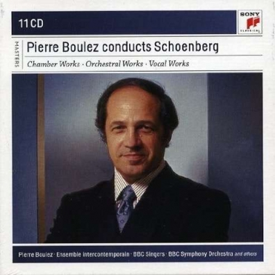 Pierre Boulez (Пьер Булез): Pierre Boulez Conducts Schoenberg