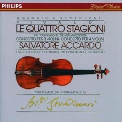Salvatore Accardo (Сальваторе Аккардо): Vivaldi: The Four Seasons