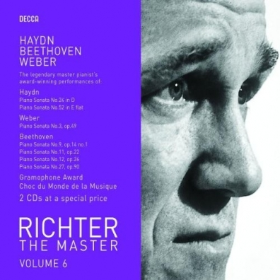 Sviatoslav Richter (Святослав Рихтер): Haydn/ Weber/ Beethoven: Sonatas