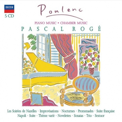 Pascal Rogé: Poulenc/ Pascal Roge & Friends