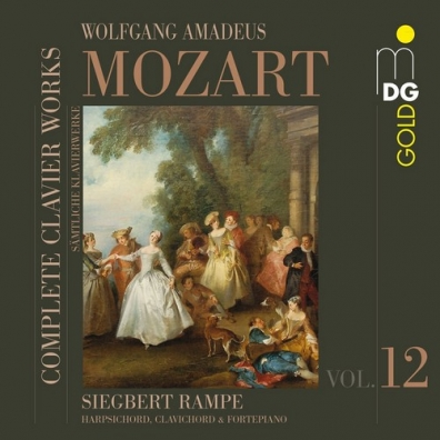 Siegbert Rampe (Сиегберт Рампе): Complete Clavier Works Vol. 12
