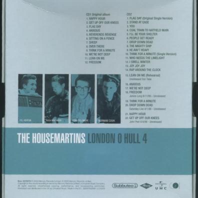 The Housemartins: London 0 - Hull 4