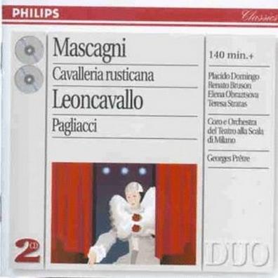 Placido Domingo (Пласидо Доминго): Mascagni: Cavalleria Rust./ Leoncavallo: Pagliacci
