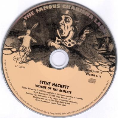 Steve Hackett (Стив Хэкетт): Voyage Of The Acolyte