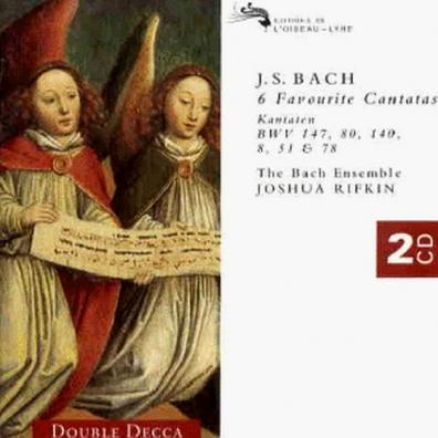 The Bach Ensemble (Зе Бич Ансамбль): Bach, J.S.: 6 Favourite Cantatas
