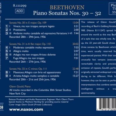 Beethoven: Piano Sonatas 30-32