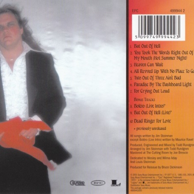 Meat Loaf (Мит Лоуф): Bat Out Of Hell