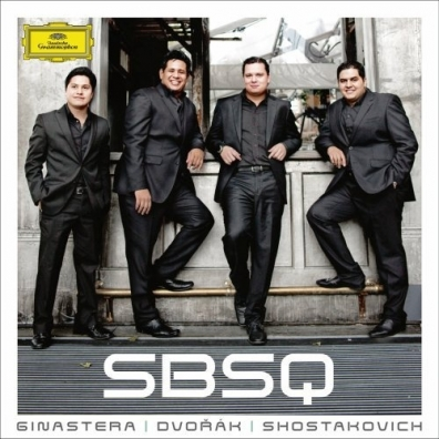 Simon Bolivar String Quartet (Симон Боливар Стринг Квартет): Ginastera/ Shostakovich/ Dvorak