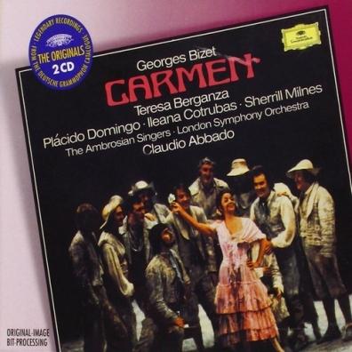 Teresa Berganza (Тереса Берганса): Bizet: Carmen Originals