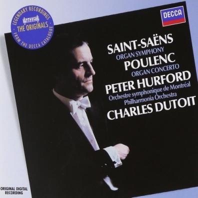 Peter Hurford (Питер Харфорд): Saint-Saens: Symphony No.3 etc