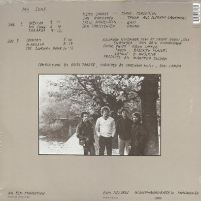 Keith Jarrett (Кит Джарретт): My Song