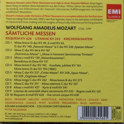 Wolfgang Amadeus Mozart: Complete Masses