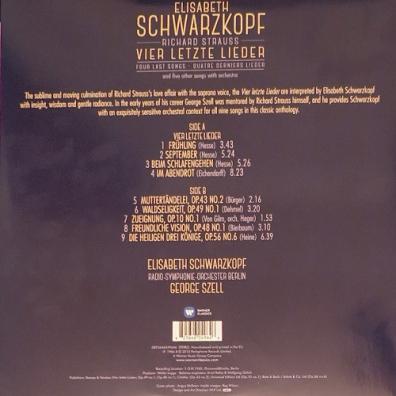 Elisabeth Schwarzkopf (Элизабет Шварцкопф): Richard Strauss / Vier Letzte Lieder
