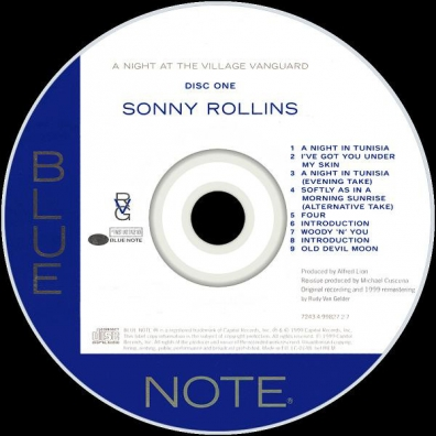 Sonny Rollins (Сонни Роллинз): A Night At The Village Vanguard