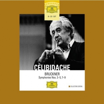Sergiu Celibidache (Серджиу Челибидаке): Bruckner: Symph. 3-5,7-9