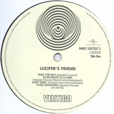 Lucifer's Friend (Люциферз Фрэнд): Lucifer's Friend