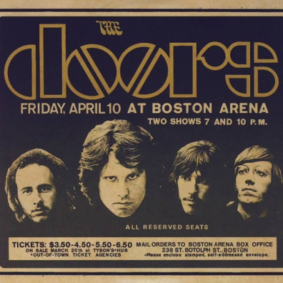 The Doors (Зе Дорс): Live In Boston 1970