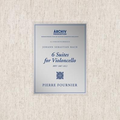 Pierre Fournier (ПьерФурнье): Bach: 6 Cello Suites