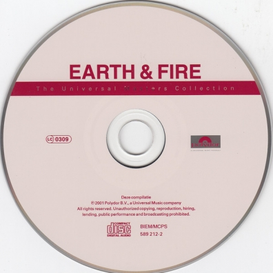 Earth And Fire (Ерс энд Файр): The Collection