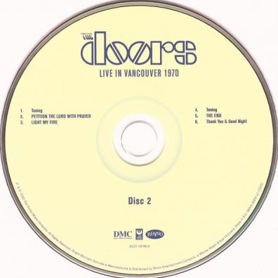 The Doors (Зе Дорс): Live In Vancouver 1970