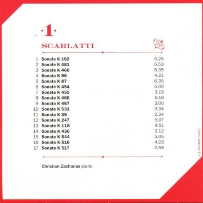 Domenico Scarlatti (Доменико Скарлатти): Sonates Clavier