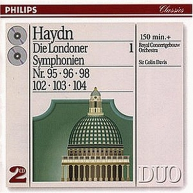 Sir Colin Davis (Колин Дэвис): Haydn: The London Symphonies - Nos. 95, 96, 98 & 1