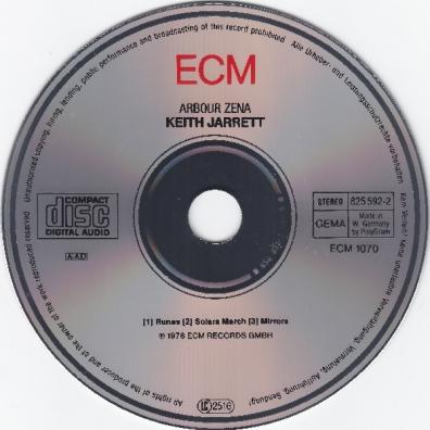 Keith Jarrett (Кит Джарретт): Arbour Zena