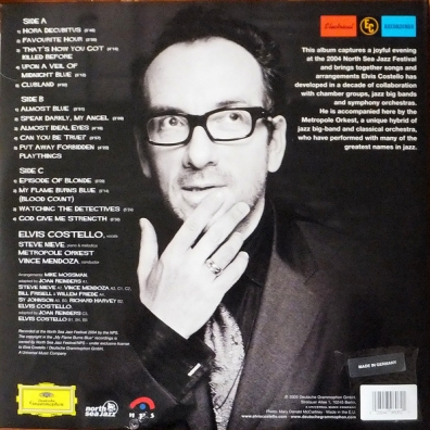 Elvis Costello (Элвис Костелло): My Flame Burns Blue