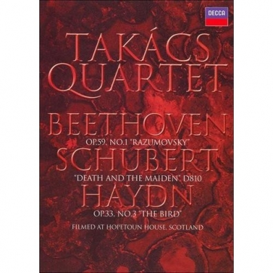 Takacs Quartet (Квартет Такача): Classical Destinations