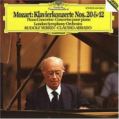 Rudolf Serkin (Рудольф Сёркин): Mozart: Piano Concertos Nos.12 & 20