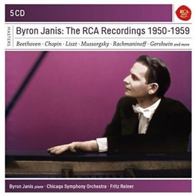 Byron Janis (Байрон Дженис): Byron Janis - The Rca Recordings 1950-19