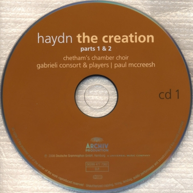 Paul McCreesh: Haydn: The Creation