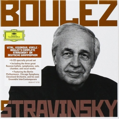 Pierre Boulez (Пьер Булез): Boulez Conducts Stravinsky