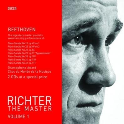 Sviatoslav Richter (Святослав Рихтер): Richter-The Master Vol.1 (Beethoven)