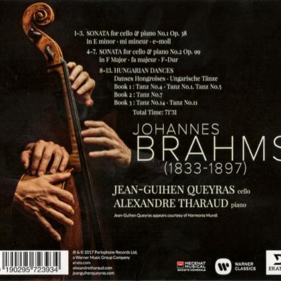 Alexandre Tharaud (Александр Таро): Cello Sonatas & Hungarian Dances